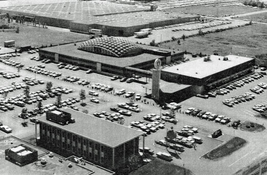 1968 Is That The Honeywell Plant In Back Park National Bank Front